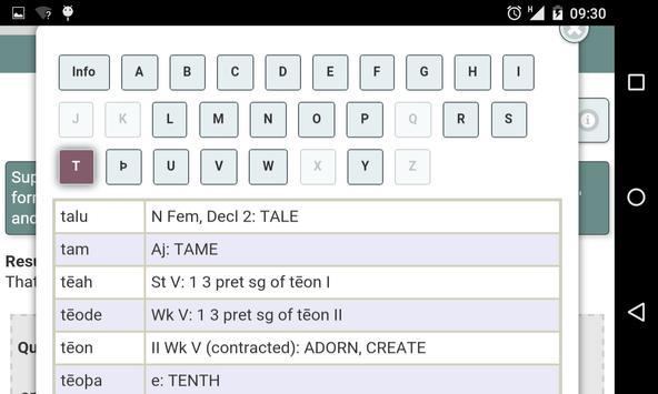 Essentials of Old English apk screenshot