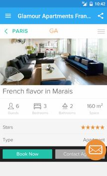 Glamour Apartments France apk screenshot