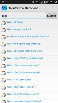 QA Interview Questions screenshot 2