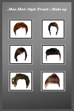 Man Hairstyle Photo Editor poster