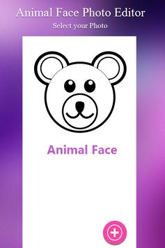 Photo Editor For Animal Face poster