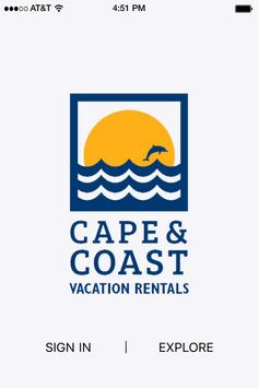 Cape and Coast Vacation Rental poster