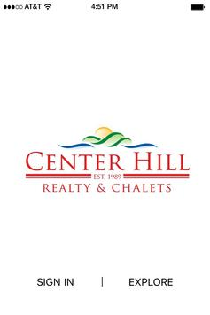 Center Hill poster