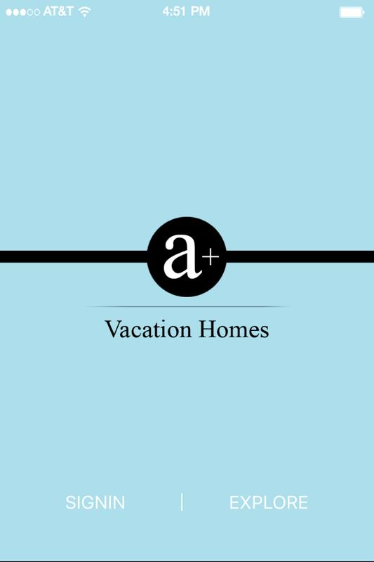 A Plus Vacation Homes Poster