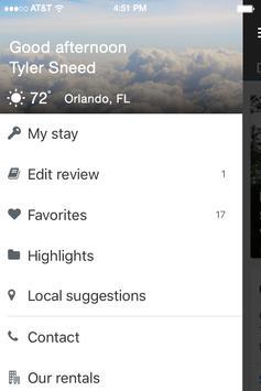 A Plus Vacation Homes apk screenshot