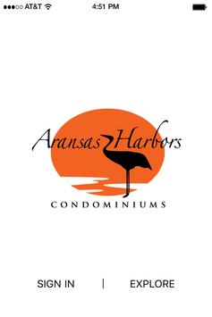 Aransas Harbors Condominiums poster