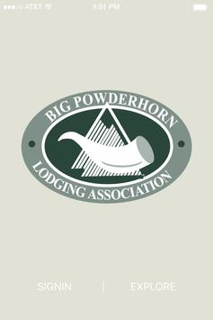 Big Powderhorn Lodging Assoc. poster