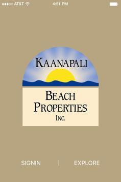 Kaanapali Beach Properties poster
