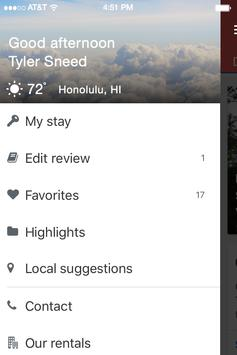 Hawaii 5-0 Vacation Rentals apk screenshot
