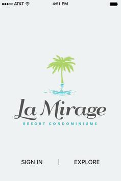 La Mirage Condominiums poster