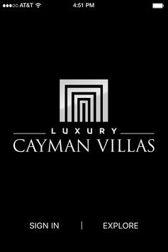 Luxury Cayman Villas poster