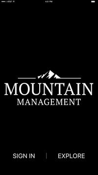 Mountain Management poster