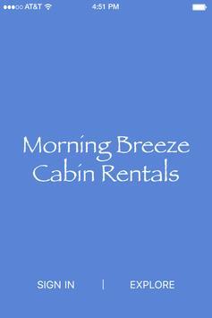 Morning Breeze Cabin Rentals poster