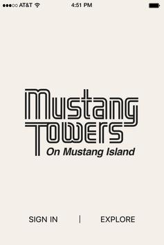 Mustang Towers Condominiums poster