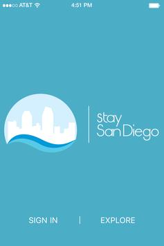 Stay San Diego poster