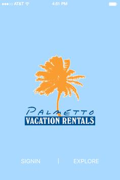 Palmetto Vacation Rentals poster