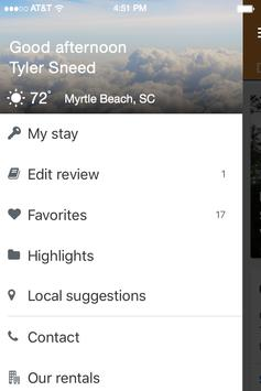 Palmetto Vacation Rentals apk screenshot