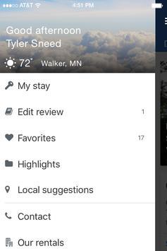 Walker Luxury Vacation Rentals apk screenshot