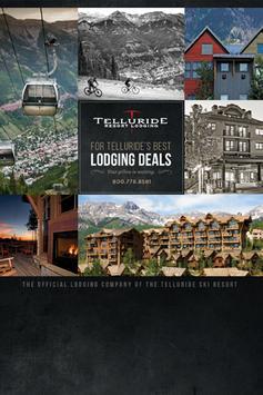 Telluride Resort Lodging poster