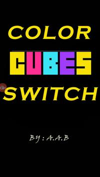 Color Cubes Switch poster