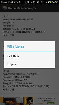 Cek Resi JNE screenshot 3