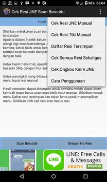 Cek Resi JNE screenshot 9
