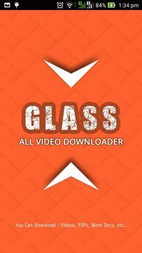 Glass Video Downloader poster
