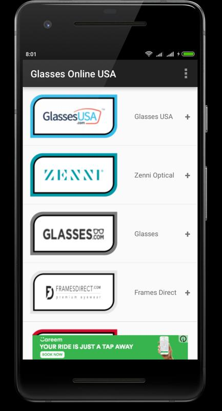3f7f0aa411 Glasses Online USA for Android - APK Download