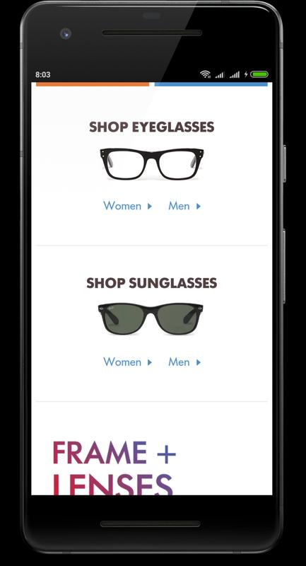 3a4eae10a6 Glasses Online USA for Android - APK Download