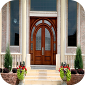 Glass Front Doors Entry icon