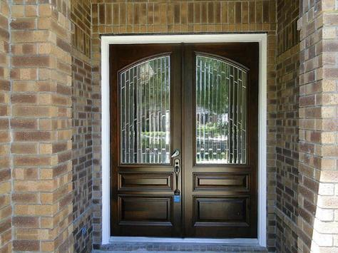 Glass Front Doors Entry poster