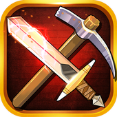 Sword and Pickaxe icon