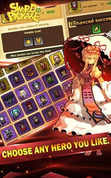 Sword and Pickaxe apk screenshot