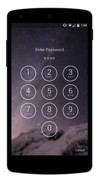 Incoming Call Security - Glaxy Pin Lock screenshot 2