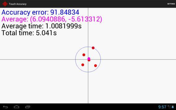 Touch Accuracy apk screenshot