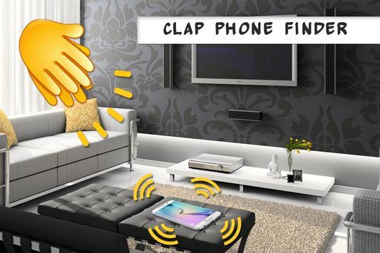 Clap phone finder - Clap to find phone screenshot 3