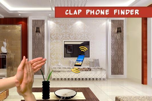 Clap phone finder - Clap to find phone screenshot 2