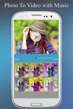 Photo To Video Maker with Music Photo Video Editor screenshot 3