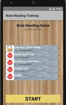 Note Reading Training (FREE) poster