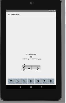 Note Reading Training (FREE) apk screenshot
