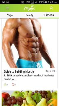 Fitness apk screenshot