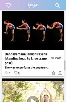 Yoga Asanas screenshot 2