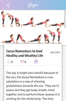 Yoga Asanas screenshot 4