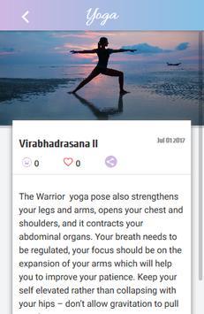 Yoga Asanas screenshot 5