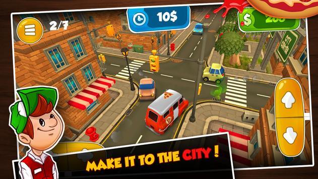 3D Driving Sim: Pepperoni Pepe screenshot 2