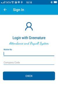 Greenature - Gnature Smart Attendance System apk screenshot