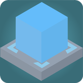 Glide cube icon