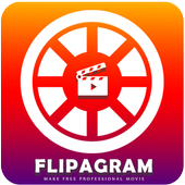Flipagram Video Maker ícone