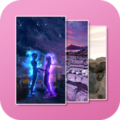 Glitter wallpapers pro icon