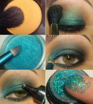 Glitter Makeup Tutorials screenshot 5